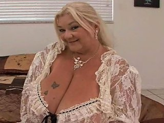 A Fat Old Ass Skank With Big Saggy Tits Sucks Dick