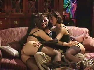 Playing With Two Sexy Ladies And Butt Fucking One