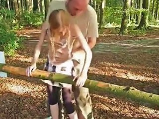 Hot Exhib Teen Fucked In A Public Park