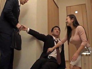 Hasegawa Mai Wife Cheats On Husband With His Boss Porn Videos