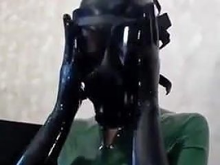 Catsuit Latex Gasmask Free Latex Catsuit Porn 83 Xhamster