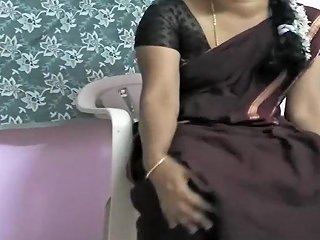 Tamil Wife Sari Stripping Video