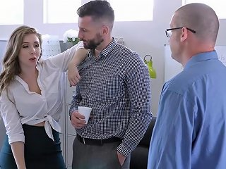 Teamskeet Busty And Hairy Office Babe Fucked By Colleague Txxx Com