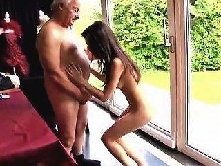 Teen Tiny Teen And Old Man Horny Senior Bruce Spots A Lovel