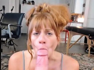 Blonde Amateur Gives Pov Blowjob Outdoors Drtuber