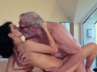 Cute Teen Fucked By Big Cock Grandpa Cums In Her Mouth Nuvid