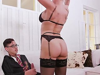 My Associates Mom Is A Whore And Skinny Brunette Teen Hardcore Halloween Special With A
