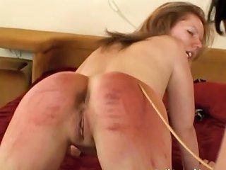 Blonde Red Ass Spanking Drtuber