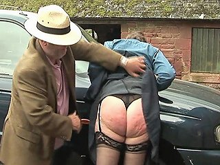 Submissive Mature Wife Punished For Damaging The Car