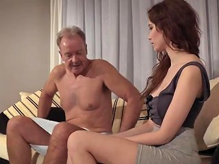 Old Teen Porn Natural Teen Takes Grandpa Cock In Her
