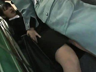 Businesswoman Groped In An Elevator Drtuber