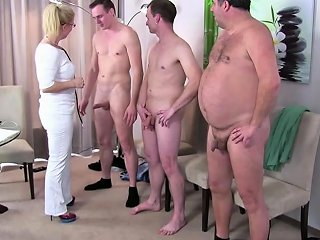 German Milf Nurse Fuck With 3 Stranger At Pattern Drtuber