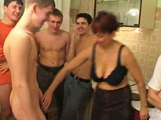 Birthday Boy Fucks His Friend's Mom With Fellows Porn 03