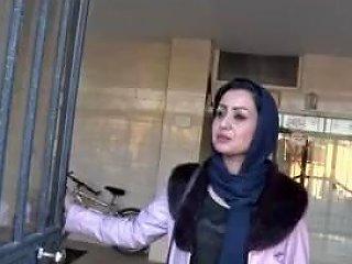 Persian Girl Wraparound Tape Gagged