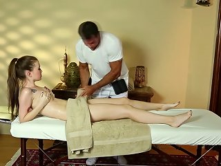 Trickyspa Sly Masseur Thrusts Cock Into Polish Slut's