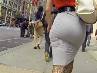 Hot Blonde Ass Skin Tight Grey Skirt Hd Porn D4 Xhamster