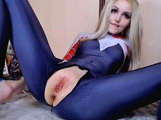 Spider Gwen Fuck W Horse Amp Dragon Dildo And Cum Sia Siberia